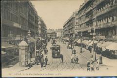 Lille - 10 - Rue Faidherbe et la Bourse - Lille