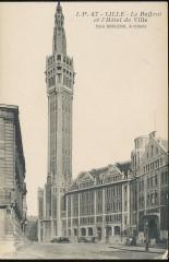 Le Beffroi et l'Hôtel de Ville - Lille