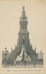 L'Eglise Saint-Michel et le Monument Pasteur - Lille