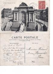 Lille — Porte de Paris, côté entrée de la Ville ; recto-verso - Lille
