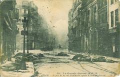 Rue-Faidherbe-Lille-1915-bombardement - Lille