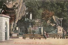 Grotte miraculeuse de Nd de Lourdes - Lourdes