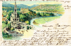 Postcard of Lourdes published in or before 1904 - Lourdes