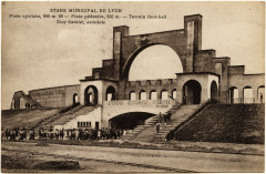 4FI-7 - Carte postale Stade municipal de Lyon - Tony Garnier (1914) - Lyon