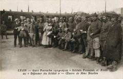 Carte postale ancienne - Mère Bizolon - Lyon
