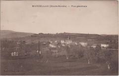 Marcellaz (Haute-Savoie) - vue générale - Marcellaz-Albanais