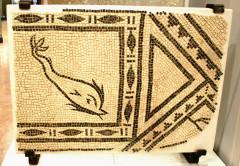 Fragment de mosaïque de pavement 13 Marseille
