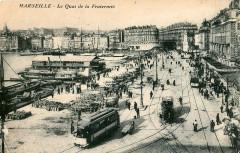 Inconnu - Marseille - Le Quai de la Fraternité 13 Marseille