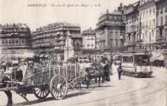 Lr - Marseille - Un coin du Quai des Belges 13 Marseille