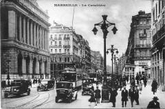 Marseille Canebière tram 13 Marseille