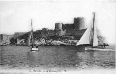 Marseille Château d'If postcard 13 Marseille