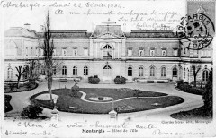 Cp Montargis Hôtel de Ville - Montargis