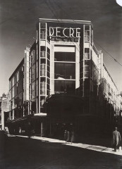 1931. Grands magasins Decré, Nantes France