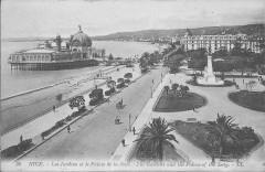 Nice-Les Jardins et le Palais de la Jetée-Ll 36 - Nice