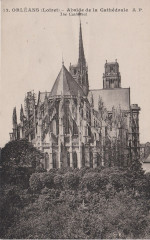 Orléans - Abside cathédrale (CP Dupré) - Orléans