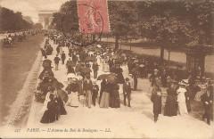 Paris-L'Avenue du Bois de Boulogne-Ll 431 - Paris 16e