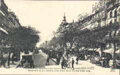 Boulevard des Italiens 1910 - Paris 2e