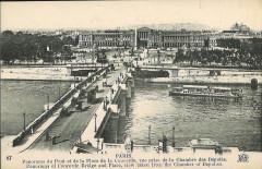 Panorama du Pont et de la Place de la Concorde - Paris 7e