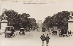 75-Paris-Avenue des Champs-Elysée et les Chevaux de Marly-Nd - Paris 8e