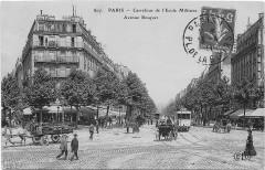 Carrefour de l'Ecole Militaire - Avenue Bosquet - Paris 7e