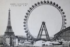 La Grande Roue et la Tour Eiffel - Paris 15e