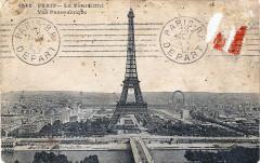 La Tour Eiffel - Vue Panoramique - Paris 16e