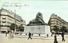 Le Lion de Belfort 75 Paris 14e