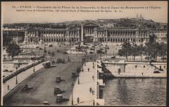 Ensemble de la Place de la Concorde, le Sacré-Coeur de Montmartre et l'Opéra - Paris 7e