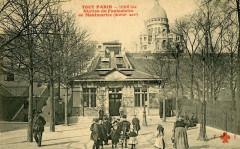 Station du Funiculaire de Montmartre - Paris 18e