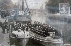026 Quimper Départ des bateaux pour Bénodet 29 Quimper