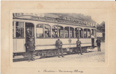 Un tramway Mougy - Roubaix
