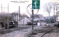 Tramway Saint Gobain Usine Electrique - Saint-Gobain