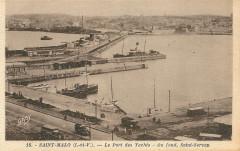 Le Port des Yachts - Au fond, Saint-Servan - Saint-Malo