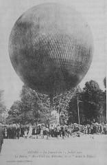 Le Ballon Aéro-Club des Ardennes avant le Départ - Sedan