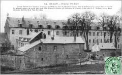 Hôpital militaire couvent des capucins - Sedan
