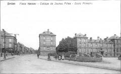 Place Nassau - Collège de Jeunes Filles - Ecole Primaire - Sedan