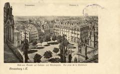 Place du chateau début XXème siècle 02 - Strasbourg