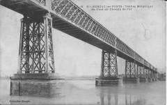 Cubzac-les-Ponts-Tablier Métallique du Pont de Chemin de Fer-Georges H5 - Cubzac-les-Ponts