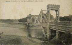 Pont noir ferroviaire - Tréguier