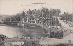 Tréguier - Le nouveau pont de chemin de fer - Tréguier