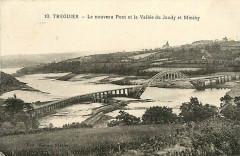 Tréguier - Le nouveau Pont et la vallée du Jaudy et Minihy - Moreau 10 - Tréguier