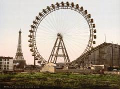 La grande roue, Paris, France, ca. 1890-1900 - Paris 15e