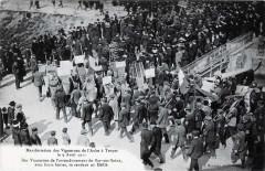Bar-sur-Seine manifestations vignerons 1911 - Troyes