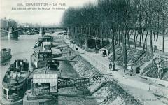 Charenton - Le Pont - Embarcadère des bateau parisiens