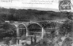 Premier pont de Pyrimont (ou viaduc de Pyrimont) - Chanay