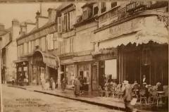 Place d'Allier - Grand Café et Hôtel du Dauphin - Moulins