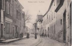 Thézan-des-Corbières - Poste et beffroi (CP Méric) - Thézan-des-Corbières