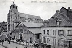 La Halle au Beurre et l'Eglise Saint-Jacques - Lisieux