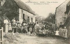 Village de Cannebert - Les Sabotiers et les Vanniers - Le Molay-Littry