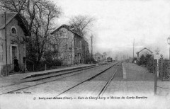 Gare-Chéry-Lury-Intérieur-CPancienne - Chéry